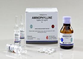 موارد مصرف داروی آمینوفیلین