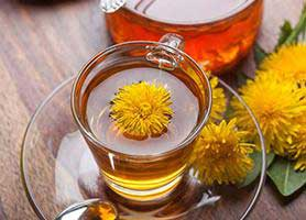 خواص شگفت انگیز چای قاصدک