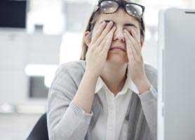سندروم مشکلات بینایی ناشی از کامپیوتر CVS چیست؟