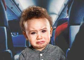 دلایل گریه بچه ها در هواپیما چیست؟