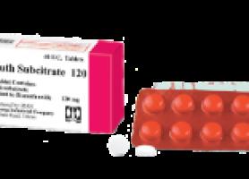 موارد مصرف داروی بیسموت سیترات