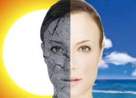 آسیب های تابش نور خورشید برای پوست