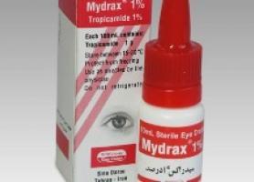 موارد مصرف داروی تروپیکامید چشمی