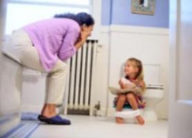آموزش دستشویی به کودکان به سبک اورپایی