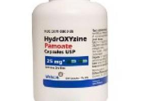 موارد مصرف هیدروکسی زین