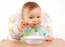 نکاتی در مورد غذای کمکی برای نوزاد