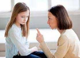 عواقب تنبیه کردن کودکان