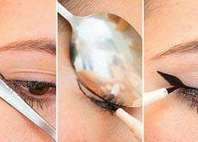 چگونه با قاشق آرایش کنیم