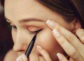 ترفندهای کشیدن خط چشم مایع