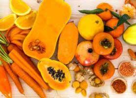فواید میوه ها و سبزیجات نارنجی رنگ